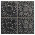 Tin Tile Black